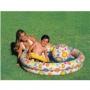 Бассейн Шарики с кругом и мячом 122х25 см. Intex 59460