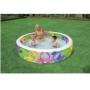 Бассейн с цветными вставками с надувным дном 229х56 см. Intex 56494