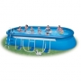 Овальный бассейн Oval Frame Pool 610х366х122 см. Intex 57982
