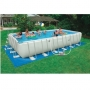 Каркасный бассейн Ultra Frame Metal Pool 732x366x132 см. Intex 54980