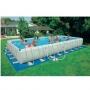Каркасный бассейн Ultra Frame Metal Pool 975x488x132 см. Intex 54986