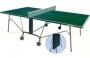 Всепогодный теннисный стол TORNADO - 4  (Тайвань) -меламин 4 мм .,  с сеткой , компактное хранение !   Бесплатная доставка !
