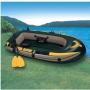 Лодка Seahawk 200 в комплекте весла и насос, 236х114х41 см. Intex 68347