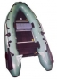 Лодка ПВХ Лидер-300 (под мотор 10 л.с)(3 части) (С-Пб)