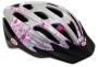 Велосипедный шлем Bell COGNITO FS Silver/pink flowers