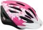 Велосипедный шлем Bell SHASTA Pink/white flowers