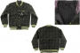 Куртка Dekline Team Jacket Black/Green