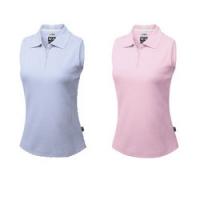 Adidas Climalite Ladies Sleeveless Pique Polo