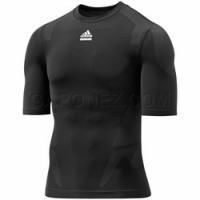 Adidas Футболка с Коротким Рукавом TECHFIT Preparation Compression Черного Цвета P92367