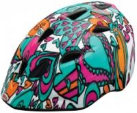 Велосипедный шлем Bell TATER Teal/magenta hearts