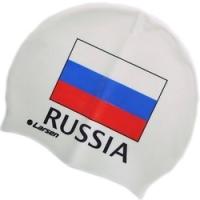 Шапочка плавательная Larsen Russia CS белый