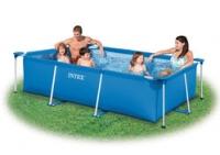 Прямоугольный бассейн Intex Rectangular Frame Pools 58983 220х150х60
