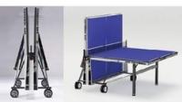 Профессиональный  теннисный стол Cornelleau Competition 540 синий , складной ,  с  сеткой,  доставка - бесплатно !